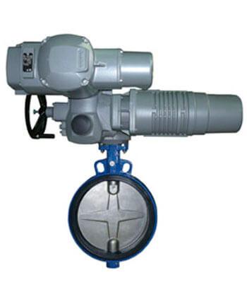 Трубопроводная арматура с электроприводом
